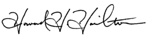 Howard Hamilton (Signature)